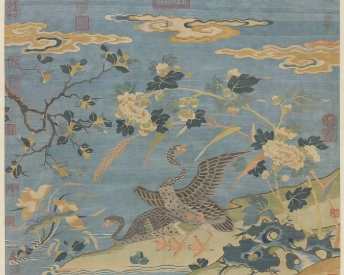 國立故宮博物院【十指春風】緙繡與繪畫的花鳥世界