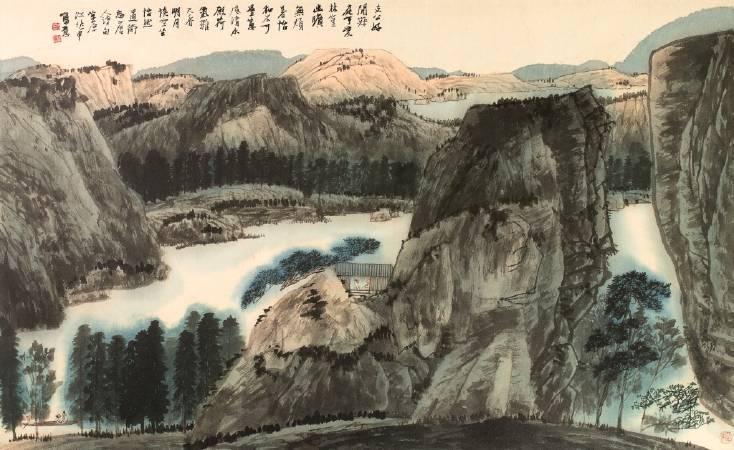 江兆申,《清幽解暑》。