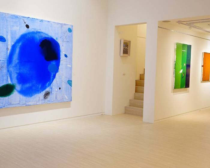 藝境畫廊【沉潛。萌生】葉竹盛個展