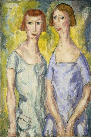 Alfred Maurer, Two Sisters, 1924.