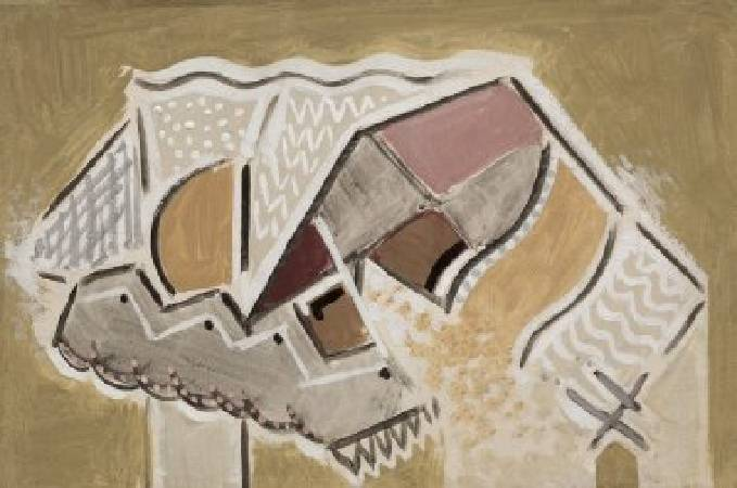 Alfred Maurer, Tan Still Life, 1932.
