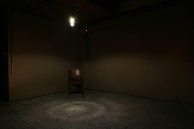 何采柔,《觀眾席》。圖/非池中藝術網攝。