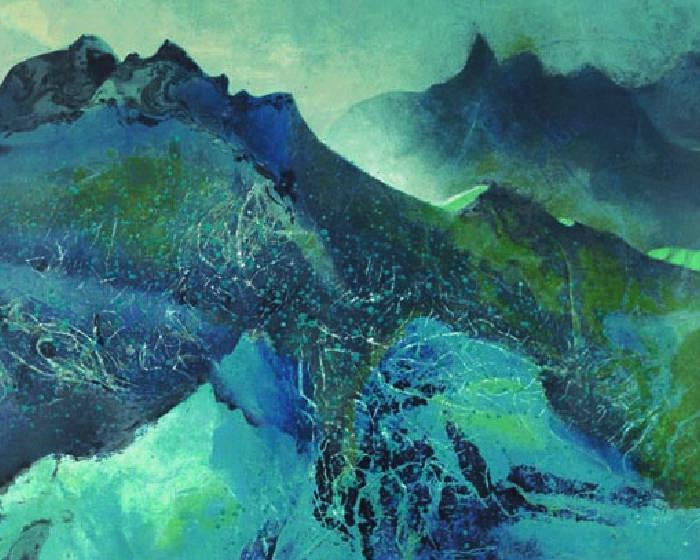 雅逸藝術中心【現代水墨傳教士的聖經】劉國松版畫展
