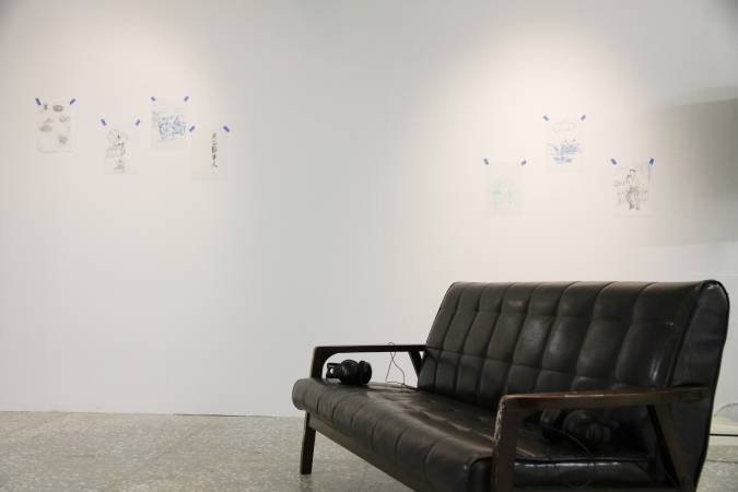 黃大旺,《60年老歌穿梭之旅》。圖/非池中藝術網攝。