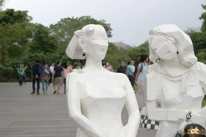 朱銘,《人間系列,2012》。圖/非池中藝術網攝。