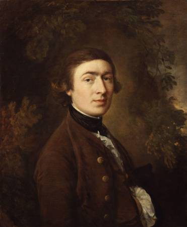 Thomas Gainsborough,《Self-Portrait》,1759。圖/取自Wikipedia。