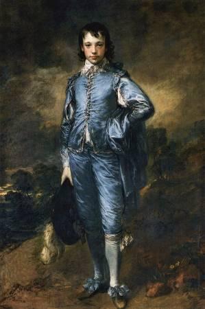 Thomas Gainsborough,《The Blue Boy》,1770。圖/取自Wikipedia。