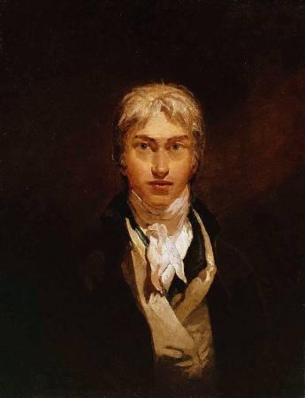 透納《自畫像》。圖/取自Wikipedia。