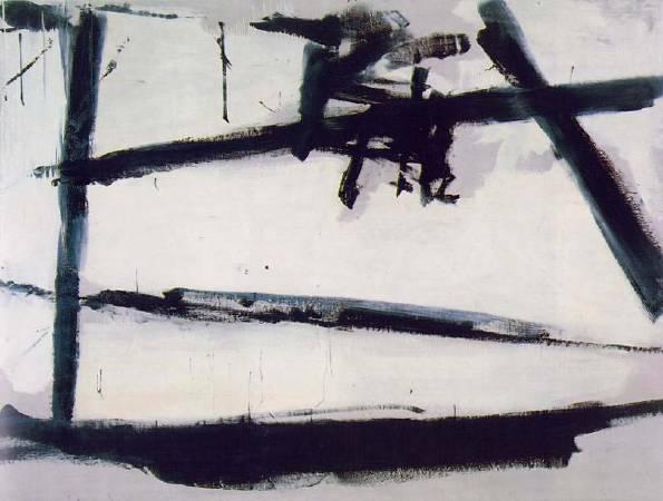 Franz Kline,《Number 2》,1954。