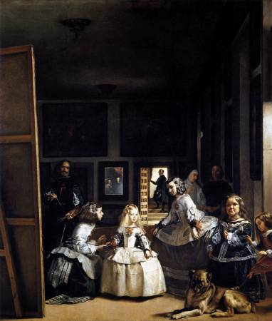 Diego Velázquez,《Las Meninas》,1656-57。