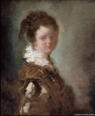 福拉戈納爾《年輕女子》。圖/取自BBC。