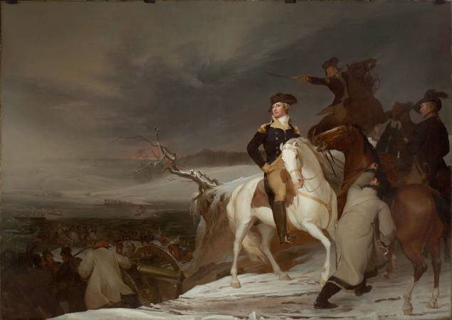 Thomas Sully,《Passage of the Delaware》,1819。