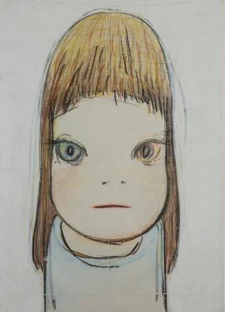 奈良美智,《無題》,2003。圖/索卡藝術提供。
