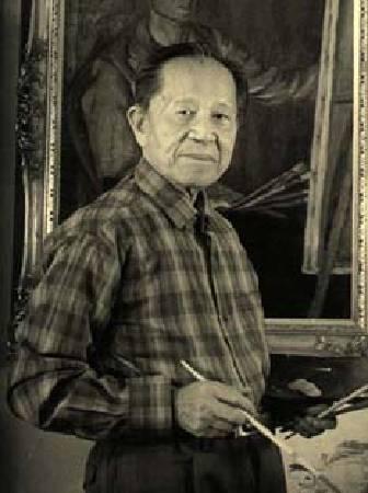 陳慧坤(1907-2011)。圖/來自本站。