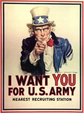 《我要你加入美國軍隊》。圖取自Wikipedia。