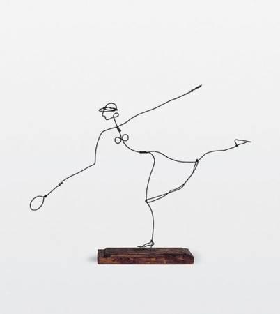 Alexander Calder,《helen wills》,1927。圖/取自Wikiart。