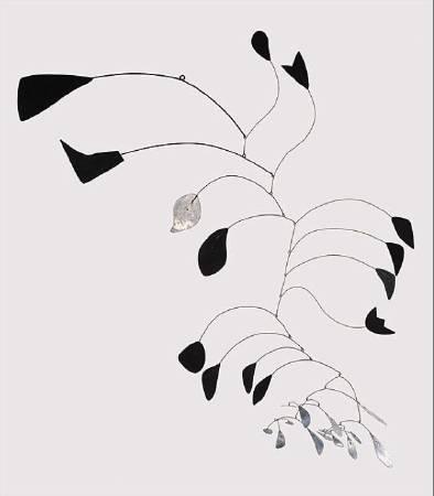 Alexander Calder, 《arc of petals》,1941。