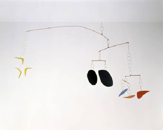Alexander Calder, 《boomerangs》,1941。圖/取自Wikiart。