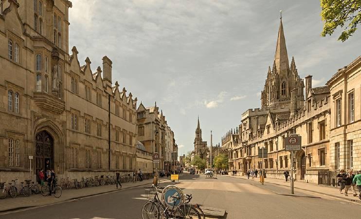 現在的牛津高街。圖/取自The History Blog。
