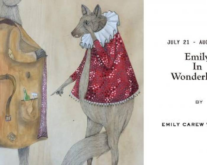 Bluerider ART  【Emily in Wonderland】Woodard 插畫個展