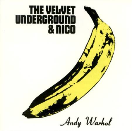 Andy Warhol,《Velvet Underground & Nico》,1967。