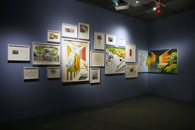 王俊傑,〈娜嘉之謎〉。圖/台北當代藝術館提供。