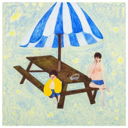 羅喬綾,《夏天》,2014。
