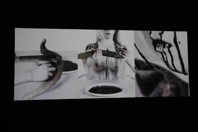 黃贊倫,《副本》,圖/非池中藝術網攝。