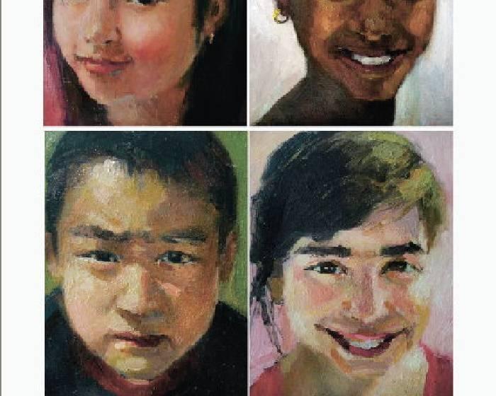 【畫自己,也是一種收藏──旅美畫家黃曉雯肖像繪製訂作】