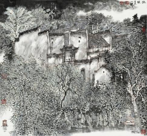 李小可 徽韻 88x96cm 2015