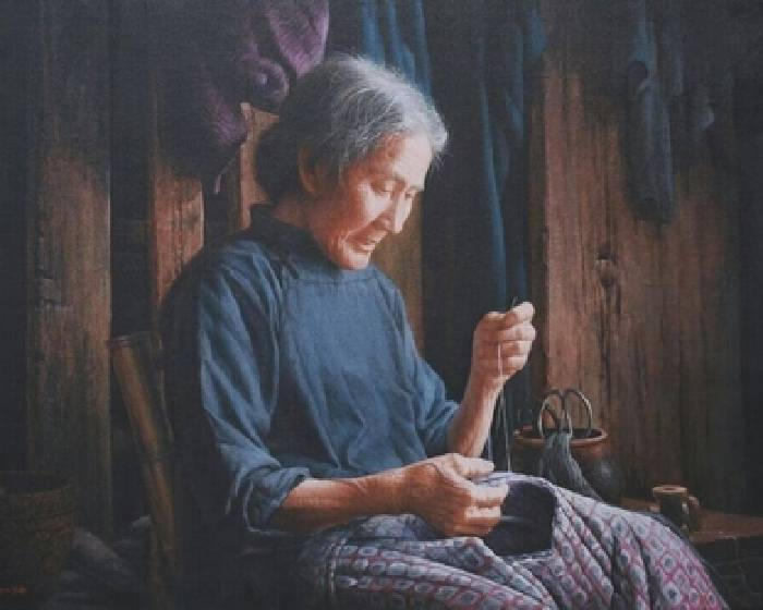 【專訪油畫家魏榮欣】從看板走出來的人生