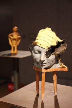 第六屆國際袖珍雕塑展。圖/非池中藝術網攝。