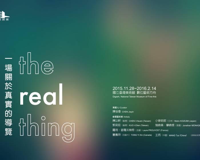 國立臺灣美術館【2015數位藝術策展案-「一場關於真實的導覽」藝術家座談會】