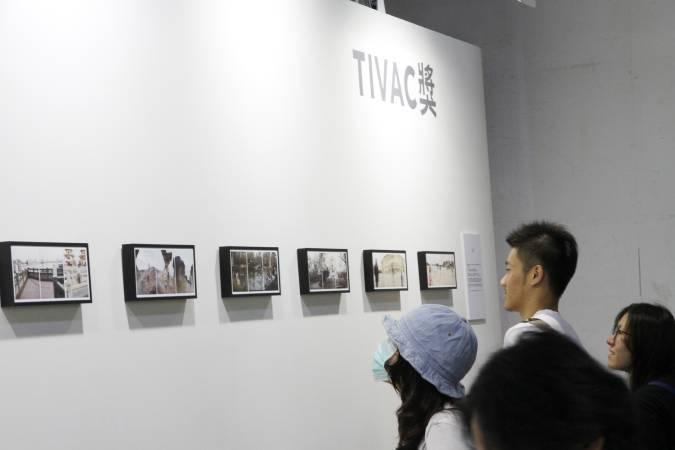「Face of Time」於台北攝影藝術博覽會展出。圖/非池中藝術網攝。