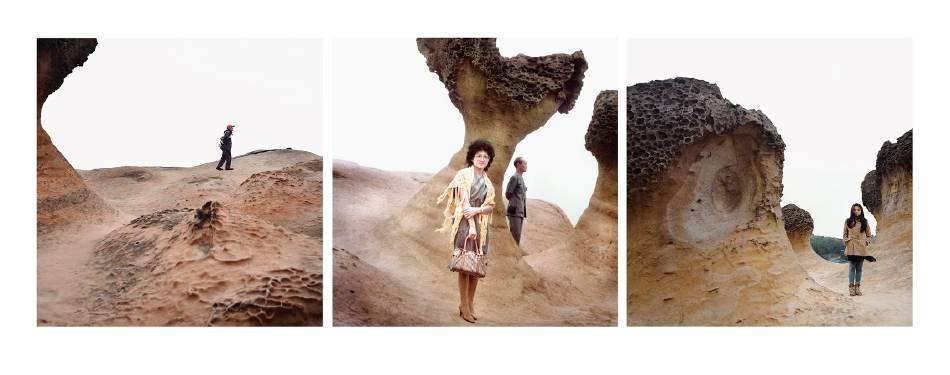 藍愛維,「Face of Time」。圖/台北攝影藝術博覽會提供。