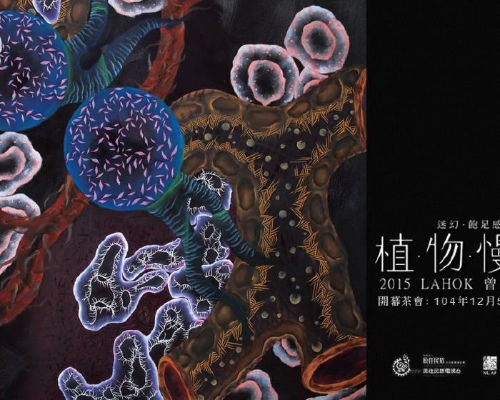 OEOE藝術空間【植物慢游】2015 LAHOK 曾秉芳個展