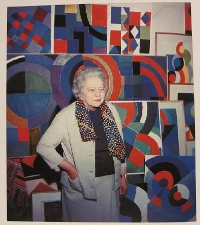 猶太裔法籍藝術家索妮亞.德洛內。圖取自Pinterest。
