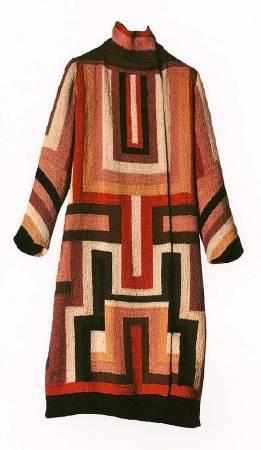 索妮亞.德洛內的服裝設計。圖取自Pinterest。