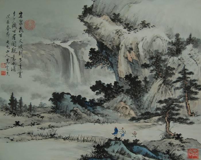 上古國際藝術【閒觀山水 水墨名家 吳定夫大展】
