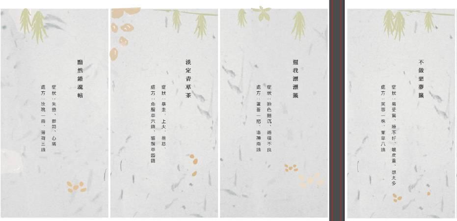 樹火紀念紙博物館設計的處方籤。圖/樹火紀念紙博物館提供。