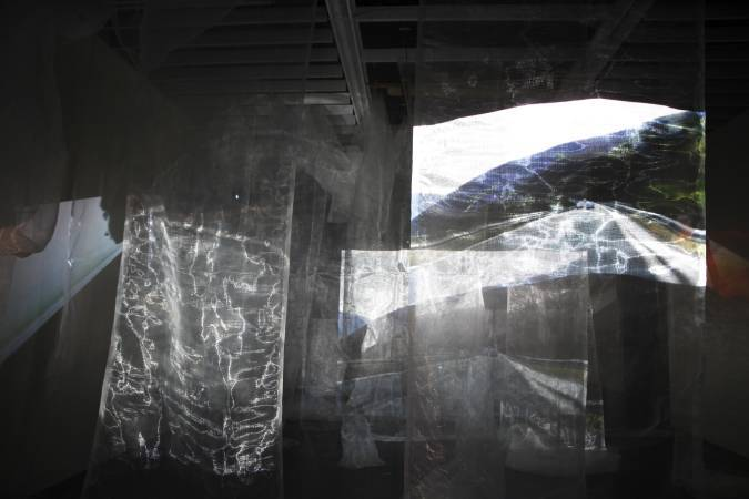 《我的記憶是你的風景》,2015。圖/非池中藝術網攝。
