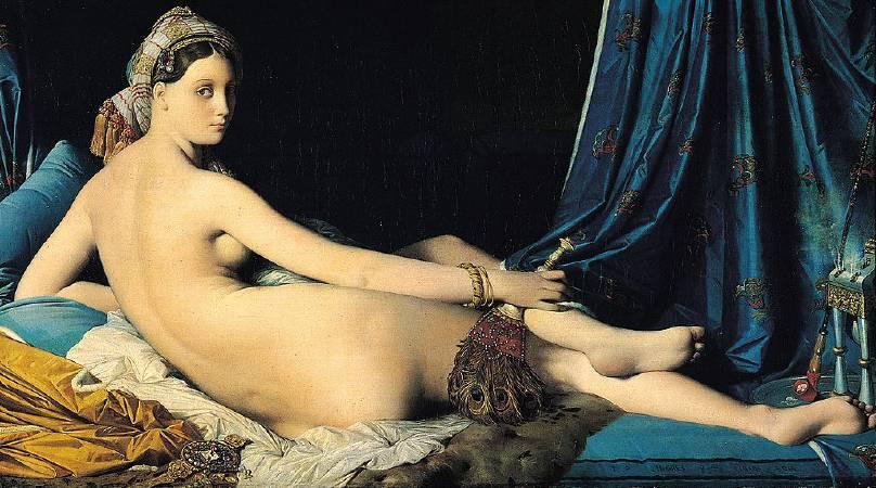 安格爾,《大宫女》,1814。