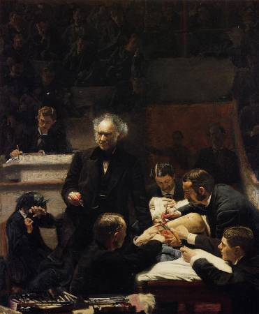 Thomas Eakins,《The Gross Clinic》,1875。