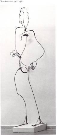 Alexander Calder, 《spring》,1928。