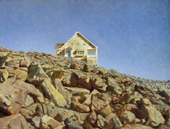 Jamie Wyeth,《Kent House》,1972。