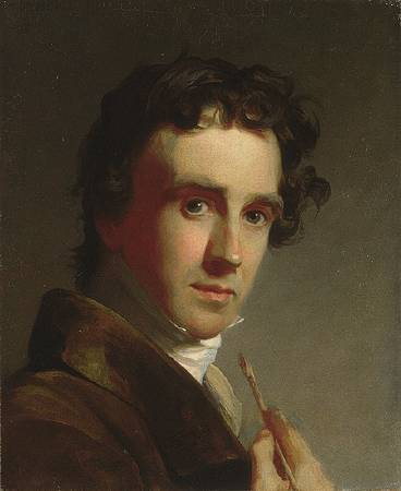 Thomas Sully,《Portrait of the Artist》,1821。