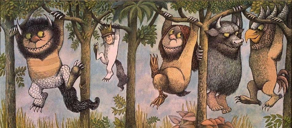 Maurice Sendak,《Where The Wild Things Are》。