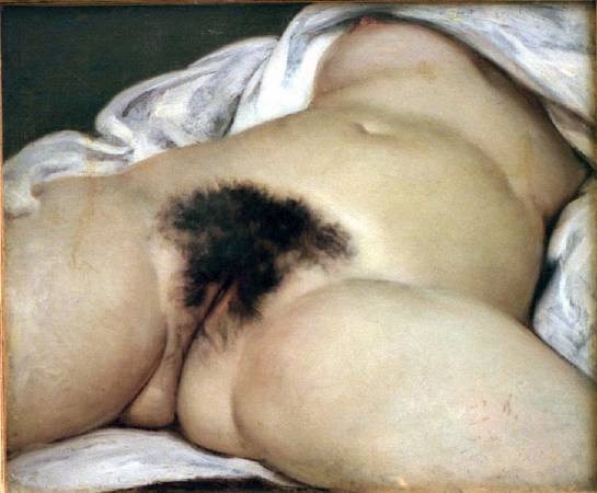 Gustave Courbet,《Origin of the World》,1866。