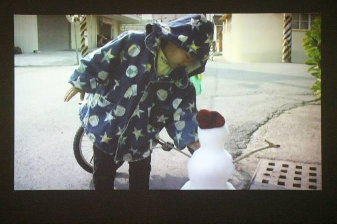 王雅慧《熱帶計畫:雪人》。圖/非池中藝術網攝。