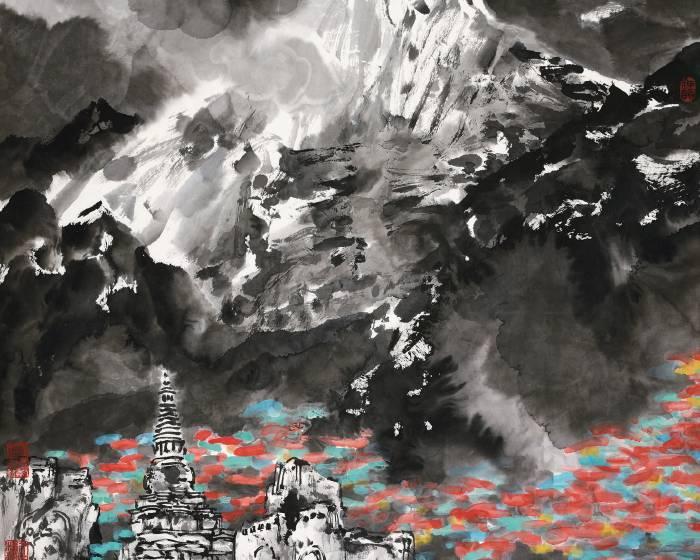 國父紀念館【水墨家園】李小可作品展